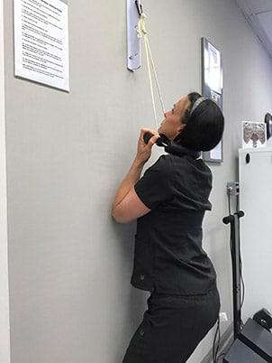 Chiropractor Richmond VA Dr. Teresa Green Regular Cervical Traction