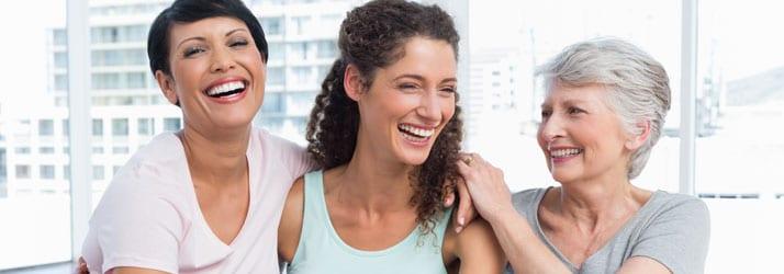 Chiropractic Richmond VA Smiling Ladies